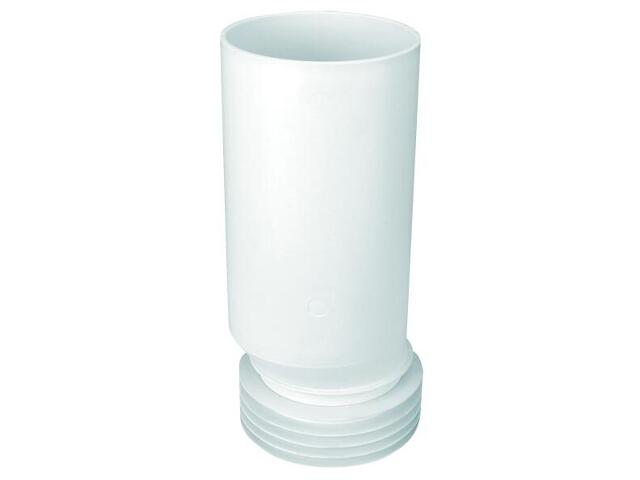 Złącze do WC długie 260mm 90-110/110mm mimośrodowe 20mm (HC-EXTC) McAlpine