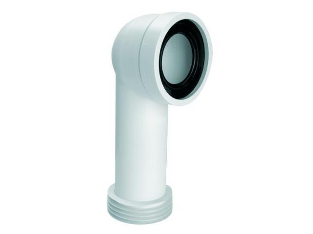 Złącze do WC długie 275mm 90-110/110mm kąt 90° (HC41) McAlpine