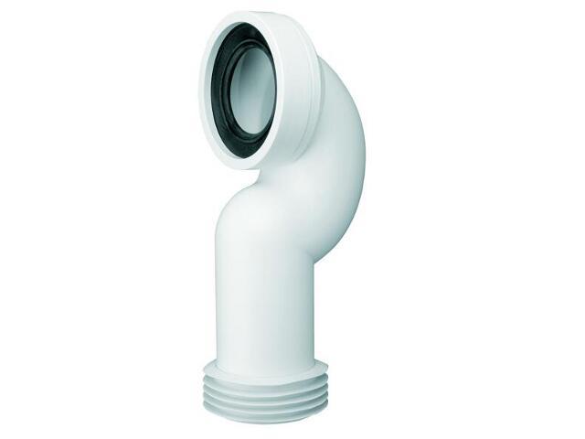Złącze do WC długie 275mm 90-110/110mm kąt 90° łuk (HC42) McAlpine
