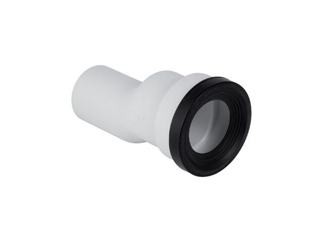Złącze do WC stojącego 90mm mimośrodowe 30mm biały-aplin 131.085.11.1 Geberit