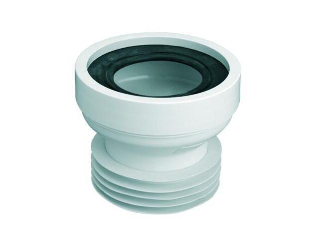 Złącze do WC krótkie 120mm 90-110/110mm, proste (WC-CON1) McAlpine