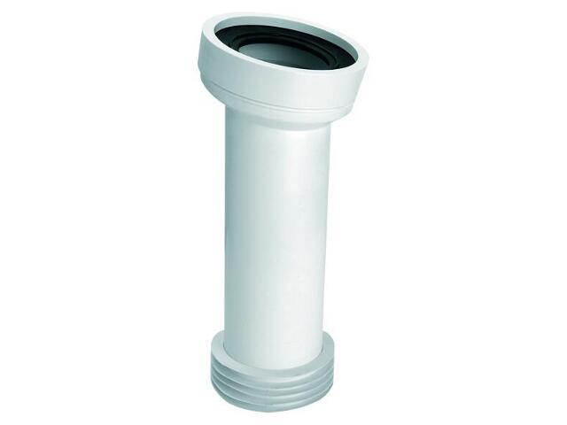 Złącze do WC długie 260mm 90-110/110mm kąt 14° (WC-CON7) McAlpine