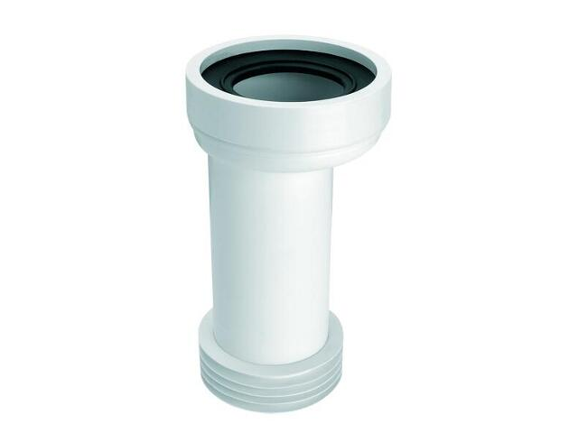 Złącze do WC długie 260mm 90-110/110mm mimośrodowe 20mm (HC37) McAlpine