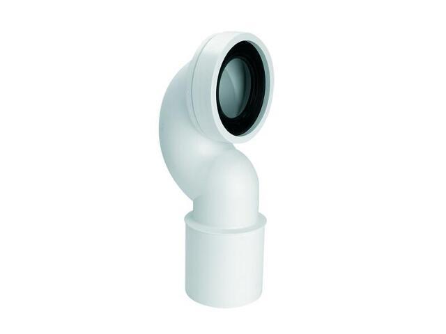 Złącze do WC długie 275mm 90-110/110mm kąt 90° (HC42-P) McAlpine
