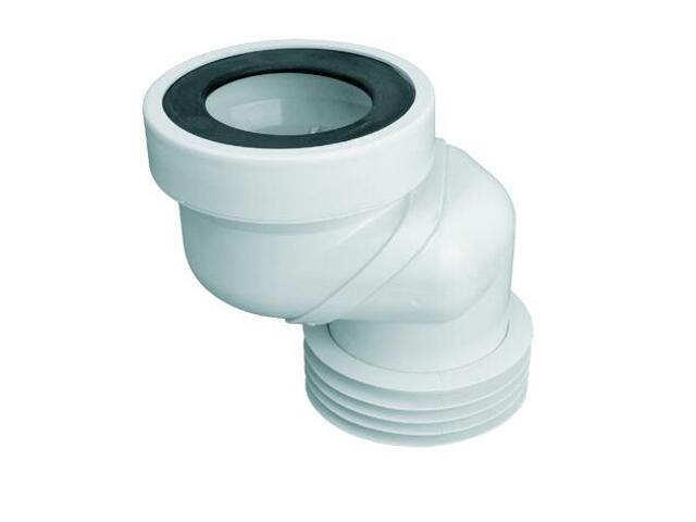 Złącze do WC krótkie 160mm 90-110/110mm (WC-LO-8) McAlpine