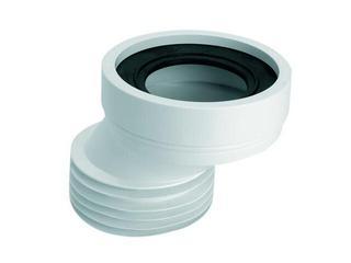 Złącze do WC krótkie 125mm 90-110/110mm mimośrodowe 40mm (HC38) McAlpine