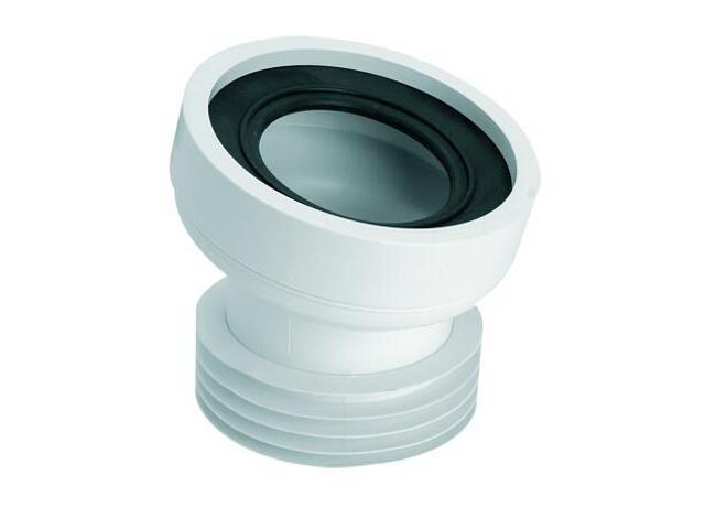Złącze do WC krótkie 130mm 90-110/110mm kąt 14° (HC39) McAlpine