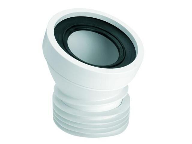 Złącze do WC krótkie 140mm 90-110/110mm kąt 22° (HC39-22) McAlpine