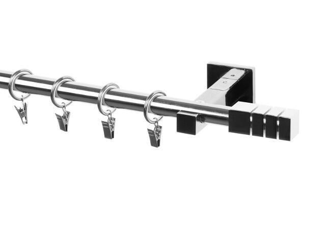 Karnisz Italia pojedynczy 20mm Trio chrom 160 Mardom
