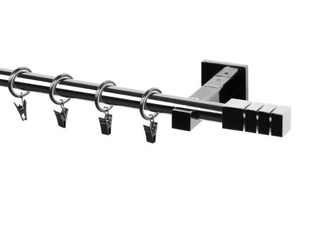 Karnisz Italia pojedynczy 20mm Trio tytan 160 Mardom