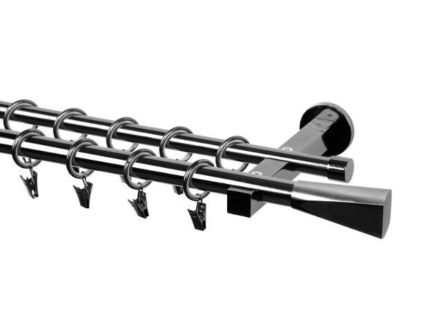 Karnisz Delia podwójny 20/16mm Kielich tytan 200 Mardom