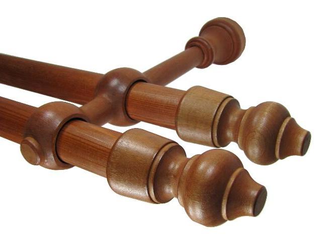 Karnisz Paola podwójny 28 mm czereśnia 250 Mardom