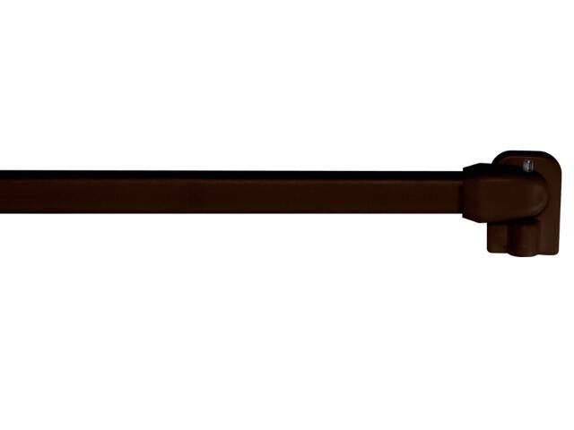 Karnisz zazdrostka 2szt. 60-110 brązowy Mardom