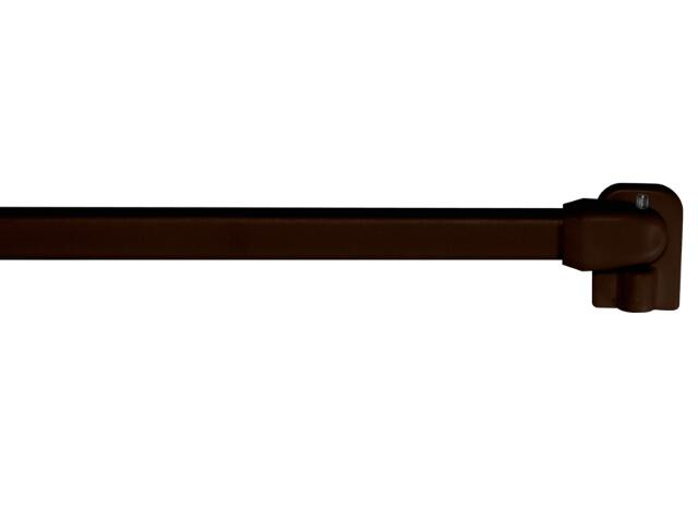 Karnisz zazdrostka 2szt. 100-190 brązowy Mardom