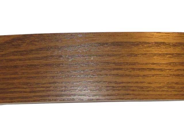 Osłona szyny sufitowej jednobarwna szer.5cm ciemny dąb Mardom