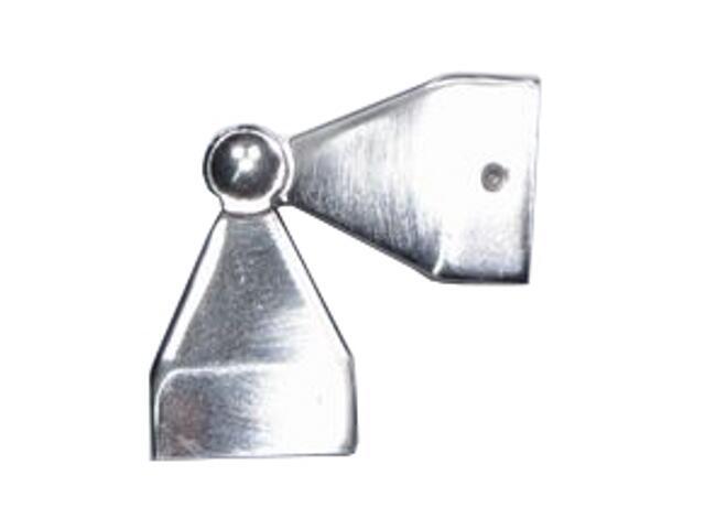 Łącznik kątowy Cubo/Cuadro 1szt efekt stali nierdzewnej Mardom