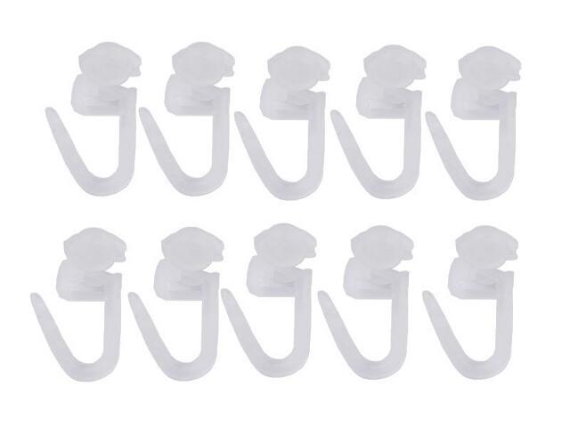 Agrafki z rolką białe 100szt Mardom