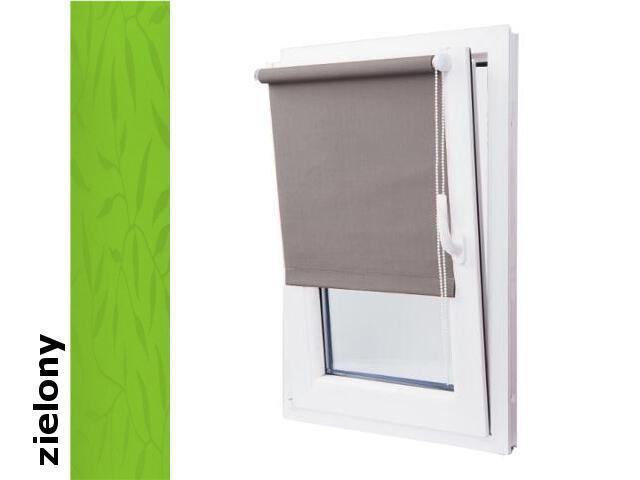 Roleta mini żakardowa Fresco zielony 52x150 Mardom