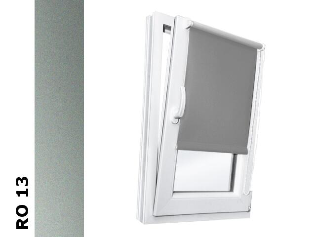 Roleta mini Romantica RO 13 srebrny 80x150 Rollomania