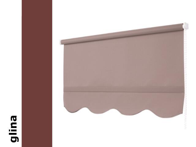 Roleta klasyczna glina z falą 160x210 Mardom