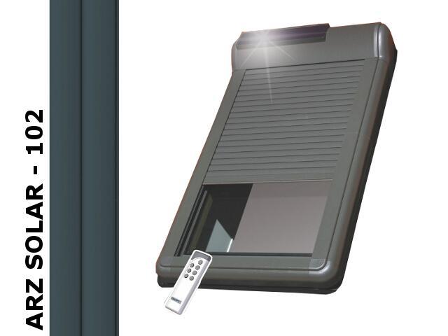 Roleta zewnętrzna ARZ SOLAR 102 13 78x160 Fakro