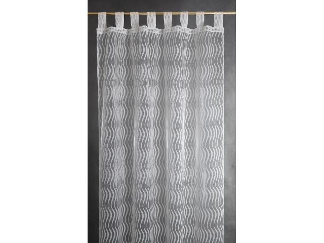 Firana Onde Mare 140x250 biała Domarex