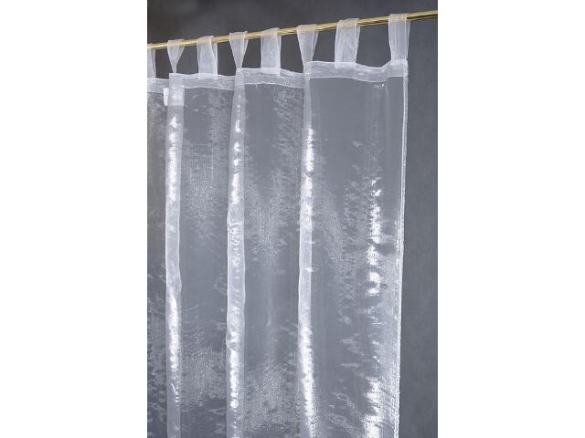 Firana Simplicite 140x250 biała Domarex