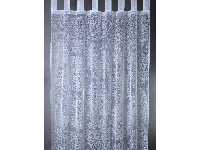 Firana Elle 140x250 biała Domarex