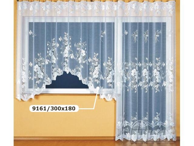 Firana Elżbieta 9161 300x180 biała Wisan