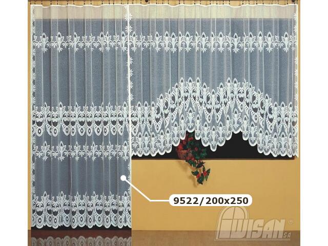 Firana Marysia 9522 200x250 biała Wisan