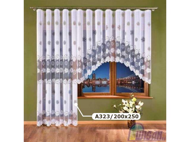 Firana Mariola A323 200x250 biała Wisan