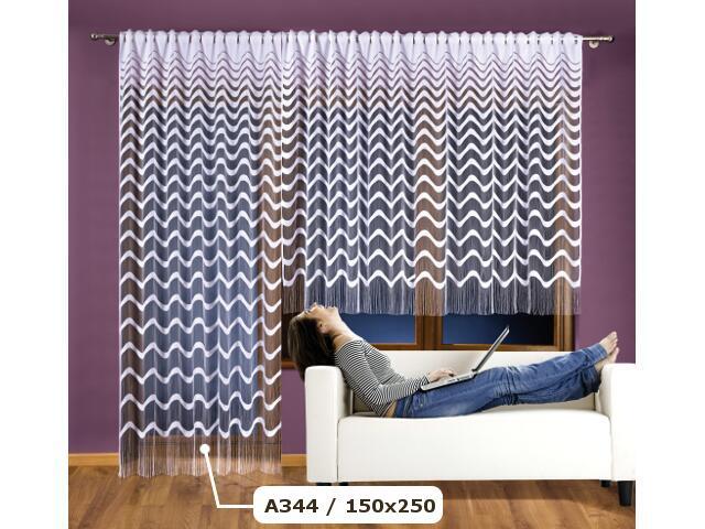Firana Anabella A344 150x250 biała Wisan