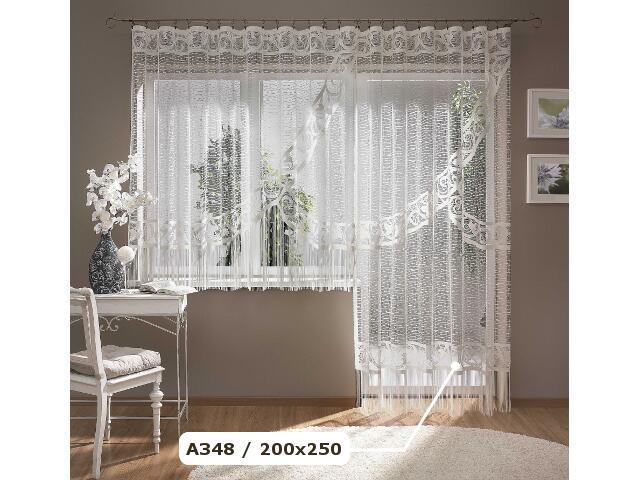 Firana Simona A348 200x250 biała Wisan