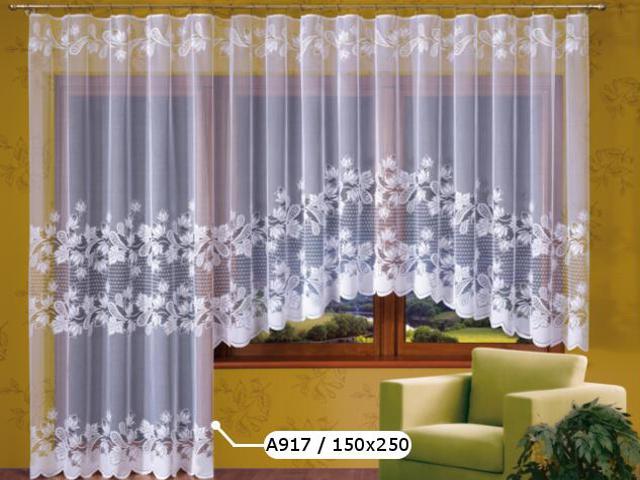 Firana Marcela A917 150x250 biała Wisan