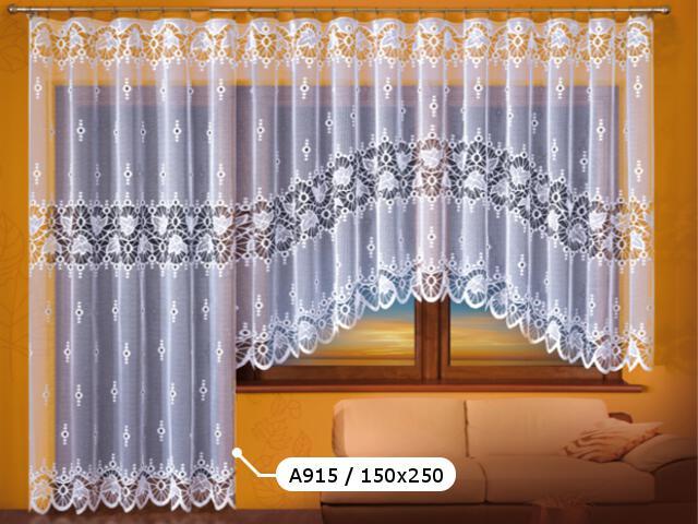 Firana Paulina A915 150x250 biała Wisan