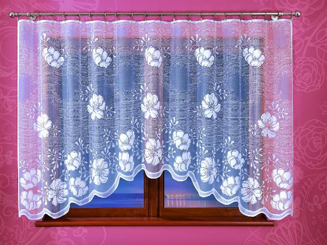 Firana Pola A911 300x150 biała Wisan
