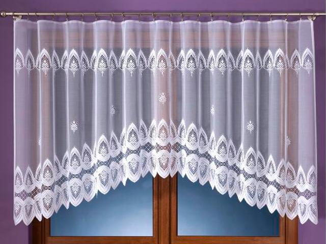 Firana Benia A909 300x160 biała Wisan