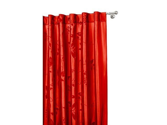 Zasłona Pianta 140x250 czerwony Mardom