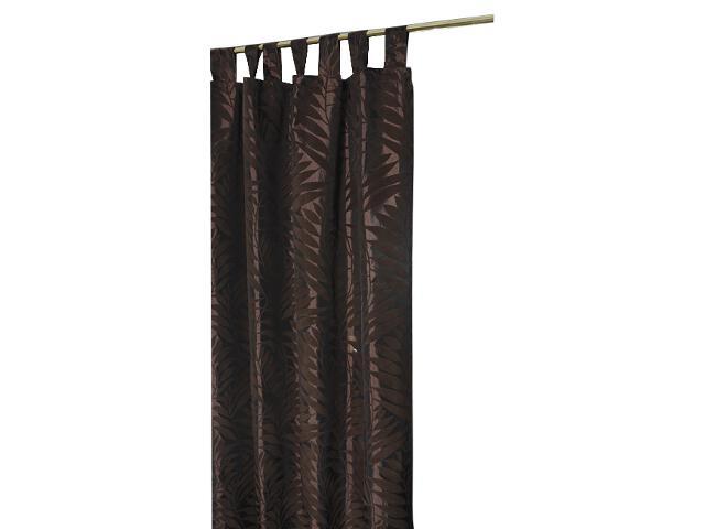 Zasłona Palme 140x250 brązowy Domarex