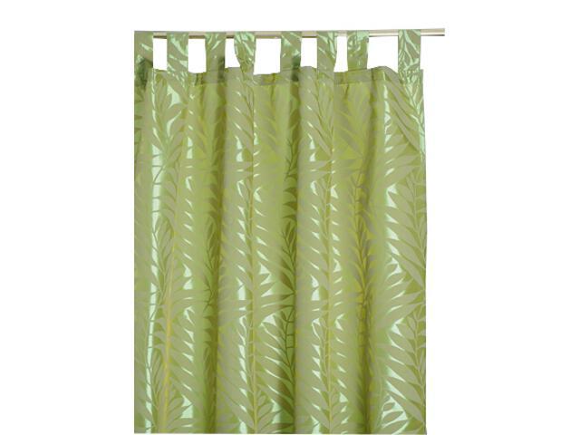 Zasłona Palme 140x250 zielony Domarex