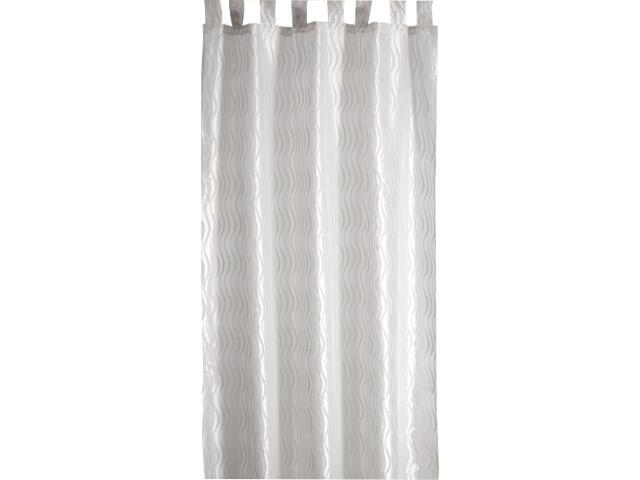 Zasłona Onde Mare 140x250 biały Domarex