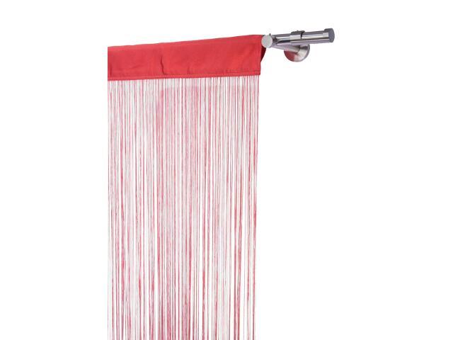 Firana sznurkowa makaron persjana czerwona 160x250 Mardom