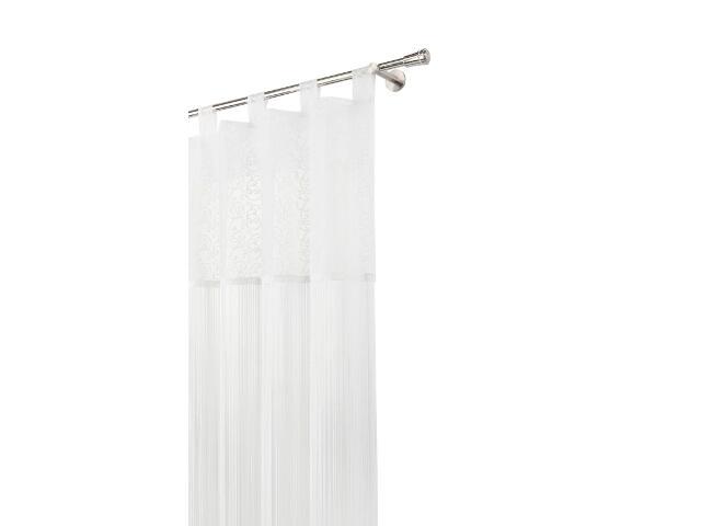 Firana sznurkowa makaron classic biały 160x250 Mardom