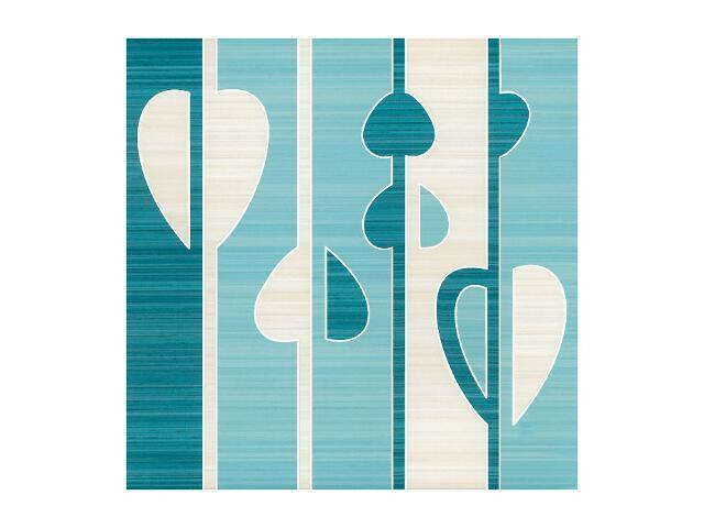 Płytka ścienna Sensual Blue Mix inserto 32,5x32,5 Paradyż