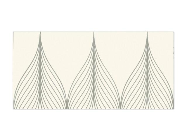 Płytka ścienna Hanabi Bianco inserto Geometryk 32,5x65,1 opakowanie styropianowe Paradyż