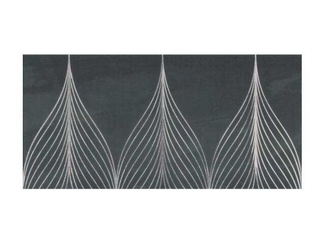 Płytka ścienna Hanabi Nero inserto Geometryk 32,5x65,1 opakowanie styropianowe Paradyż
