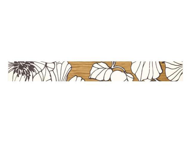 Płytka ścienna Cydonia Gold listwa drukowana 7x59,5 Paradyż