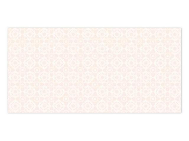 Płytka ścienna Piumetta Bianco inserto A 29,5x59,5 Paradyż