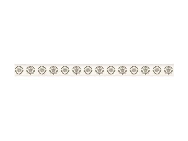 Płytka ścienna Piumetta Bianco listwa Murano 2,3x29,5 Paradyż