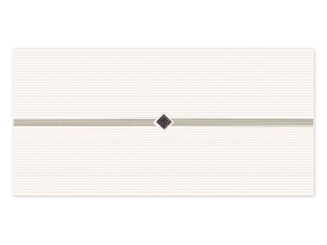 Płytka ścienna Secret Bianco inserto Murano 29,5x59,5 opakowanie styropianowe Paradyż